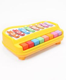 Xylophone Toy With Sticks - Yellow
