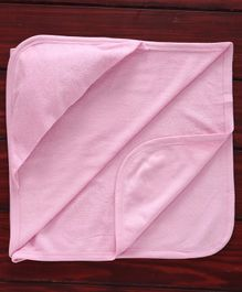 Ohms Solid Hooded Towel - Pink