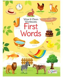 First Words Wipe & Clean Workbook with free Pen - English