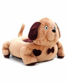 Benny & Bunny Dog Shaped Sofa Seat - Brown