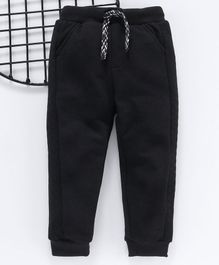LC Waikiki Solid Full Length Pants - Black