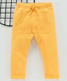 LC Waikiki Solid Full Length Pants - Yellow