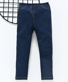 LC Waikiki Full Length Solid Jeans - Dark Blue