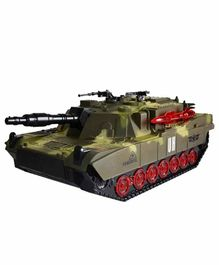 Planet of Toys 1:16 Scale Remote Control Military Battle Tank With Music and Sound