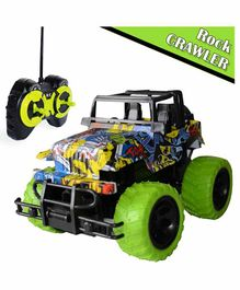 Planet of Toys 2.4GHz RC Rock Crawler Jeep - Green