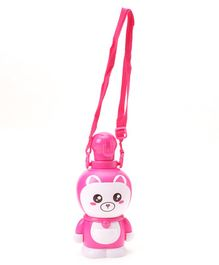 Kitty Design Water Bottle Pink- 400 ml