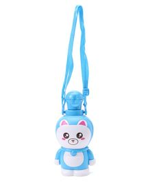 Kitty Design Water Bottle  Blue - 400 ml