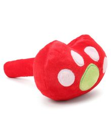 Baby Plush Musical Hammer - Red