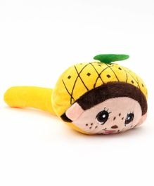 Baby Musical Hammer Pineapple Design - Yellow