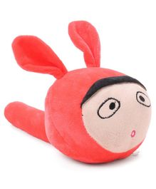 Musical Hammer Plush Bunny shaped - Red