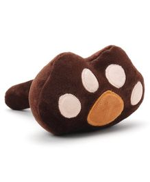 Musical Hammer Paw Design - Brown