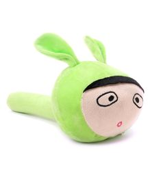 Musical Hammer Plush Bunny shaped - Green