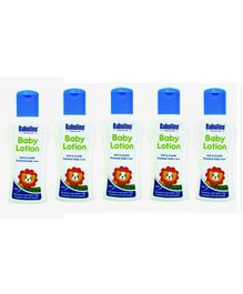 Babuline Baby Lotion Pack of 5 - 50 ml