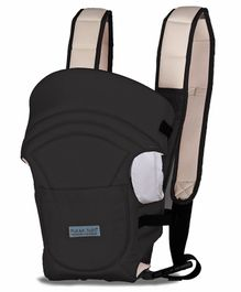 Polka Tots Adjustable Hands-Free 3-In-1 Sling Baby Carrier - Black