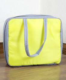 My Gift Booth  Travel Bag Organizer - Yellow And Grey