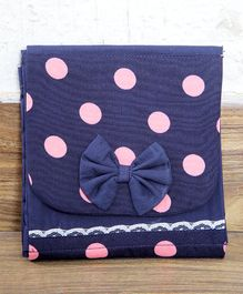 My Gift Booth Polka Organizer Bag - Blue Pink
