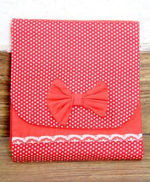My Gift Booth Polka Organizer Bag - Red