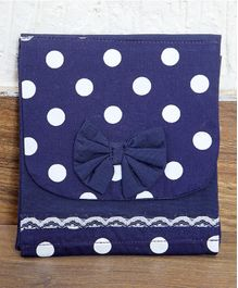 My Gift Booth Polka Organizer Bag - Blue White