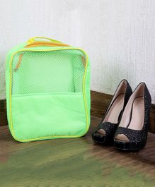 My Gift Booth Travel Shoe Organizer - Green