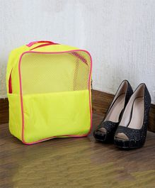 My Gift Booth Travel Shoe Organizer - Yellow