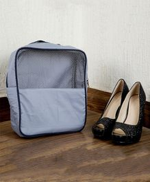 My Gift Booth Travel Shoe Organizer - Grey