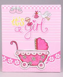 Baby Girl Photo Album -  Pink