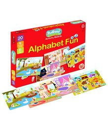PodSquad Alphabet Fun Theme Activity Boards  - Multicolour