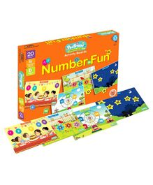 PodSquad Number Fun Theme Activity Boards  - Multicolour