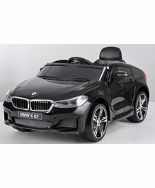 Marktech BMW 6 GT Battery Operated Ride On Car with Light and Music - Black