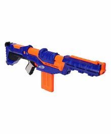 Nerf Delta Trooper Dart Gun With 12 Darts - Navy Blue