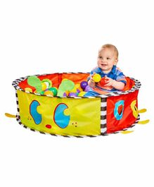 Worlds Apart My First Kid Active Ladybird Pop Up Baby Sensory Ball Pit - Multicolor