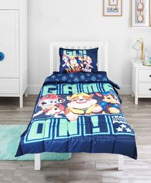 Pace Paw Patrol Team Single Bed Comforter - Blue