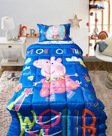 Pace Peppa Pig Out of the World Single Bed Comforter - Blue