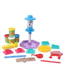 Funskool Circus Toy Play Dough Set - Multicolor