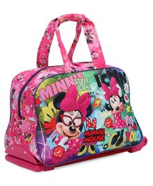 Disney Minnie Mouse Duffle Trolley Bag - Pink