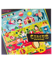 Circus Carnival Puzzle Game Puzzle - 25 Pieces