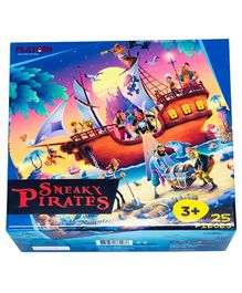 Playqid Sneaky Pirates Jigsaw Puzzle - 25 Pieces