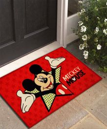 Athom Trendz Disney Mickey Door Mat - Red