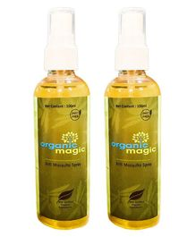 Organic magic Mosquito repellents Spray - Pack of 2
