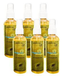 Organic magic Mosquito repellents Spray - Pack of 6