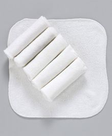 Ohms Terry Napkins Pack of 6 - White