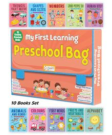My First Learning Preschool Books - English