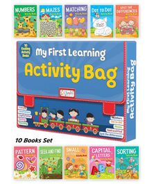My First Learning Activity Books - English