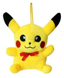 JDM Pikachu Plush Soft Toy Yellow - Height 22 cm