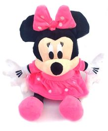 JDM Minnie Mouse Plush Soft Toy Pink - Height 28 cm