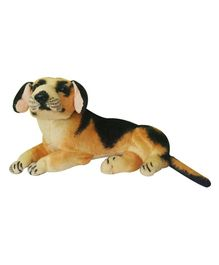 JDM Dog Animal Soft Toy Brown - Height 26 cm