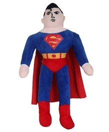 JDM Superman Soft Toy Red - Height 38 cm