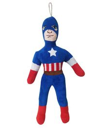 JDM Captain America Soft Toy Red - Height 38 cm