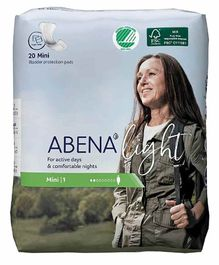 Abena Bladder Control Pads Mini 1 - 20 Pieces