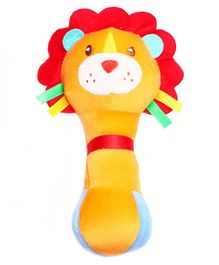 1st Step Lion Face Rattle Toy - Yellow